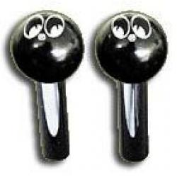 Black MOON Logo Door Lock