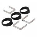 """Autometer Angle Rings, 2 1/16"""" 3-Pack"""