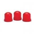 UTFÖRSÄLJNING - Autometer, Röda kåpor (3-Pack) för Glödlampor, Mätare