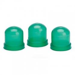 UTFÖRSÄLJNING - Autometer, Gröna kåpor (3-Pack) för Glödlampor, Mätare
