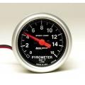 Autometer, Mätare - Avgastemperatur, 0 - 1.600 F