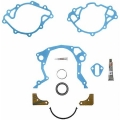 Fel-Pro, Timing Cover Set, Ford, Lincoln, Mercury Smallblock, med Reparationshylsa, 1962-1978