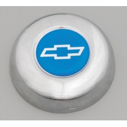 """Grant, Centrumkåpa till Classic Ratt, Chevrolet """"Bowtie""""-Logo, Blå"""