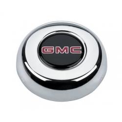 Grant, Centrumkåpa till Classic Ratt, GMC-Logo, Röd/Svart
