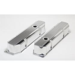 Hamburger's Performance Products, Ventilkåpor, Ribbad Aluminium, Mopar Bigblock