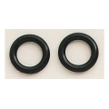 Holley, O-Ringar, Gummi, till Transfer Tube, (Par)