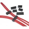 MSD Tändkabelhållare/Delare, Pro-Clamp, Svarta, Universal