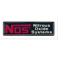 NOS, Emblem, Vinyl, 65mm x 15mm