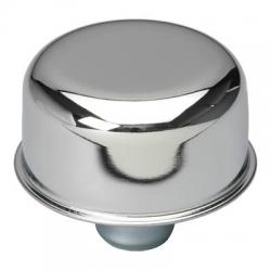 "Chromad Breather/Cap, Push-In för 1,25"" hål, Universal"