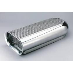 Hilborn Style Scoop, Polerad Aluminium för dubbla förgasare