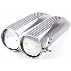 Shotgun Style Scoop, Aluminium, för Enkel / Dubbel Förgasare