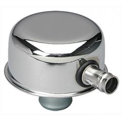 Chromad Breather/Cap, Push-In, med slanganslutning, Universal