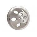 Remskiva Vattenpump, Aluminium, Enkelspårig, för Kort Pump, V-rem, Chevrolet Smallblock