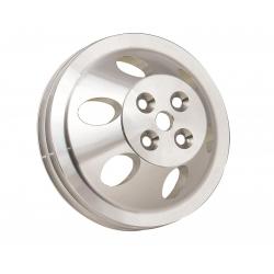 Remskiva Vattenpump, Aluminium, Dubbelspårig, för Kort Pump, V-rem, Chevrolet Smallblock