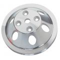 Remskiva Vattenpump, Aluminium, Enkelspårig, för Lång Pump, V-rem, Chevrolet Smallblock