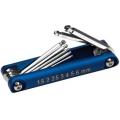 Performance Tool, 8-Delars Insexnyckelsats, Aluminium, Millimeter